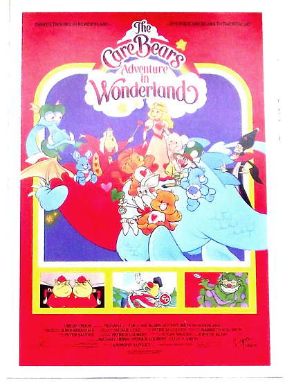 Care Bears Film Campaign Collectables