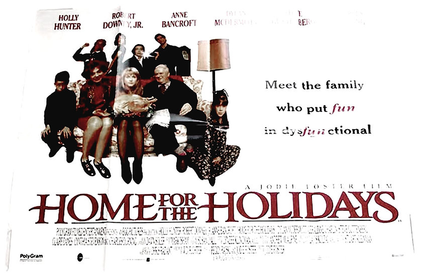 Home For The Holidays British Quad Film Poster 1995