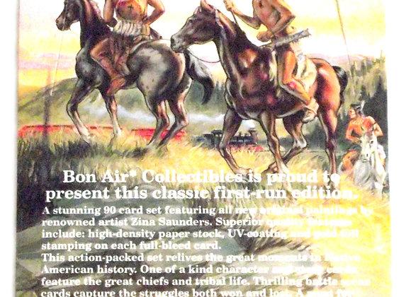 Bon Air Native Americans 1995 Trade Card Set