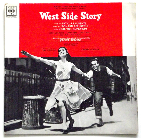 Excerpts From West Side Story CBS Records 1962