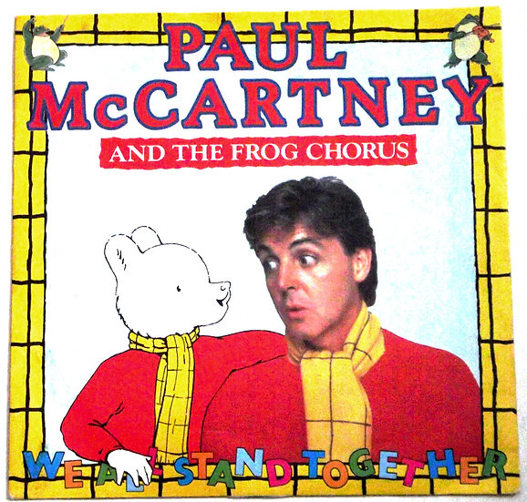 Paul McCartney We All Stand Together Single 1984
