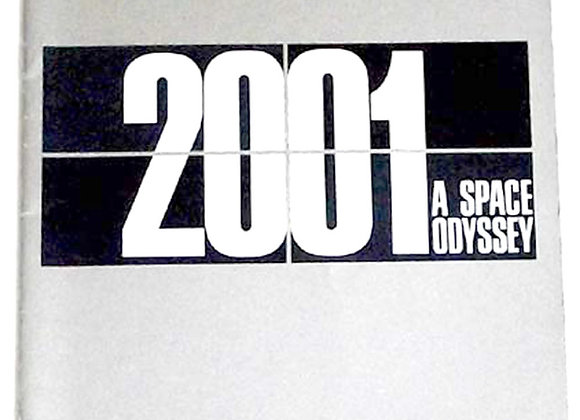 2001 A Space Odyssey Film Programme 1968