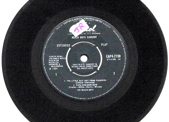 Beach Boys Concert EP Capitol EAP4-2198 1964