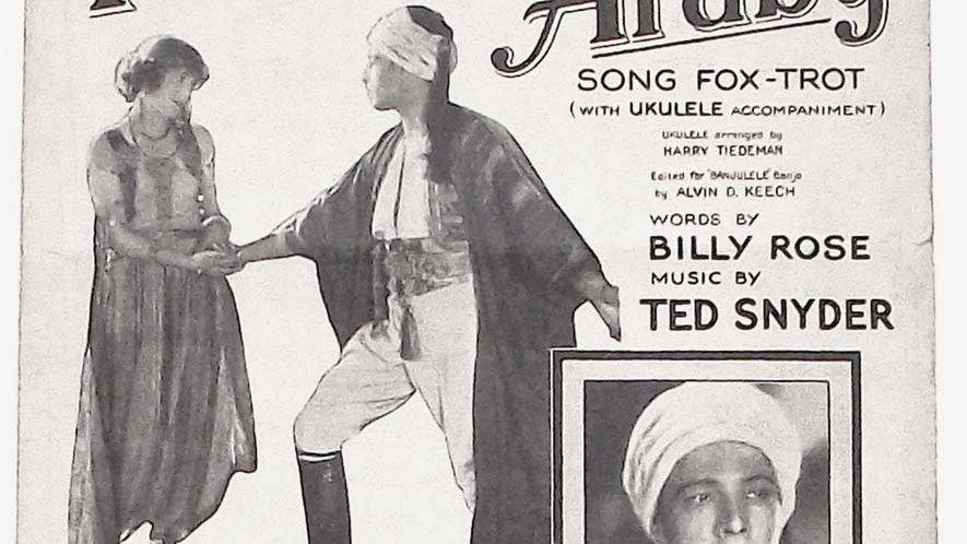 Rudolph Valentino That Night in Araby The Son of the Sheik Sheet Music 1926