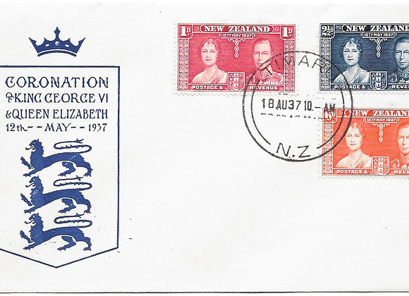 King George VI and Queen Elizabeth 1937 Coronation First Day Covers