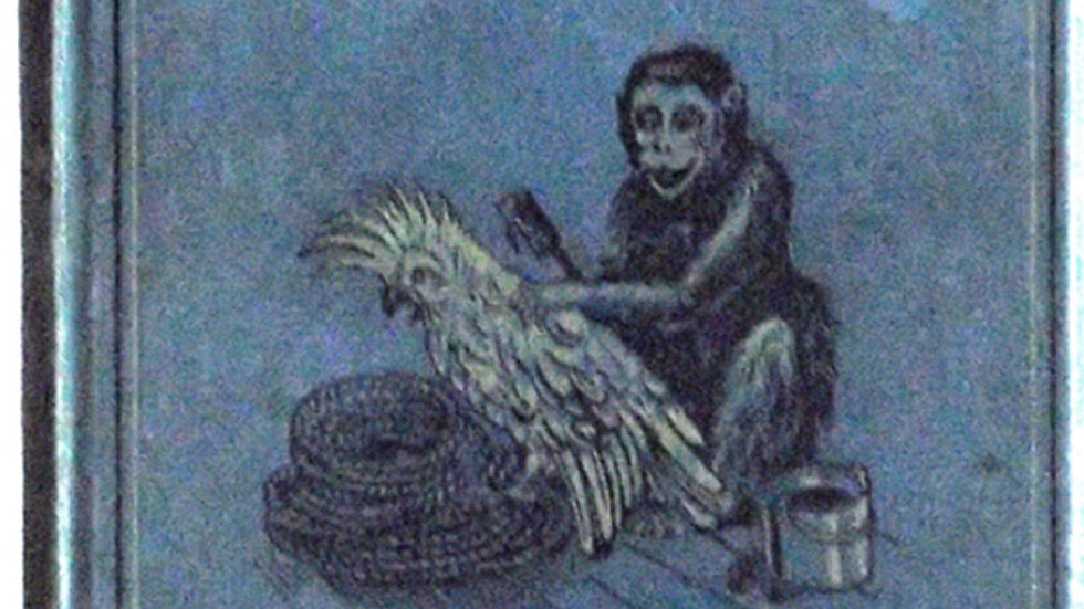 Louis Wain The Monkey That Would Not Kill 1898