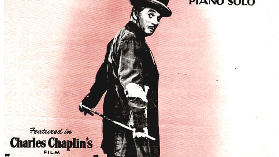 Charlie Chaplin Limelight Film Sheet Music 1953