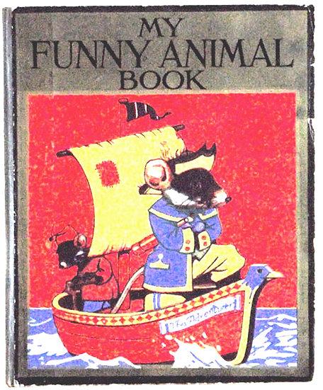 Louis Wain My Funny Animal Book circa 1904