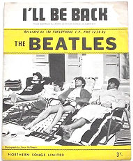 Beatles-Sheet-Music-Ill-Be-Back-1964-Fro