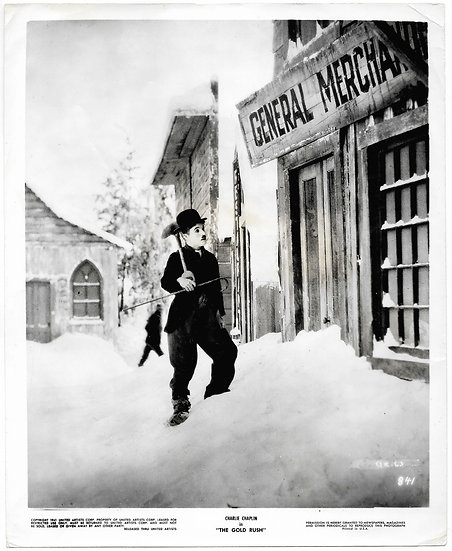 Charlie Chaplin The Gold Rush Original Film Still 1925