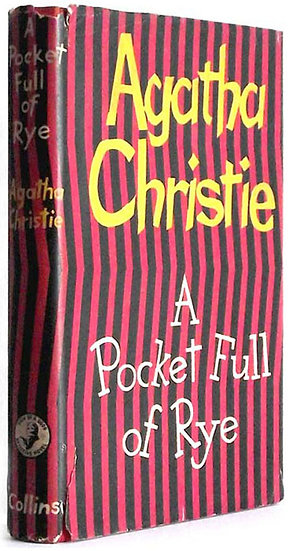 Agatha Christie A Pocket Full of Rye First Edition Book 1953
