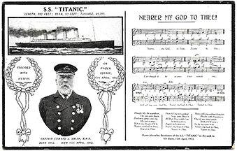 Titanic-Postcard-Nearer-My-God-To-Thee-F