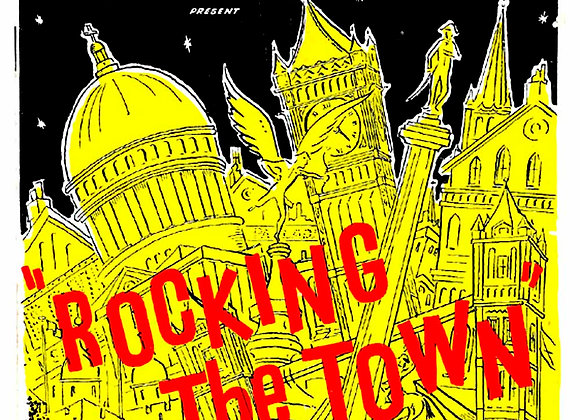 Rocking the Town London Palladium Theatre Programme 1956
