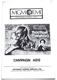Doctor-Zhivago-Campaign-Book-Front-Cover