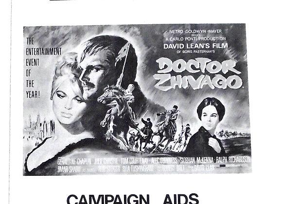 Doctor Zhivago Film Campaign Book 1965