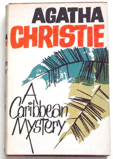 Agatha Christie A Caribbean Mystery Miss Marple First Edition Book 1964