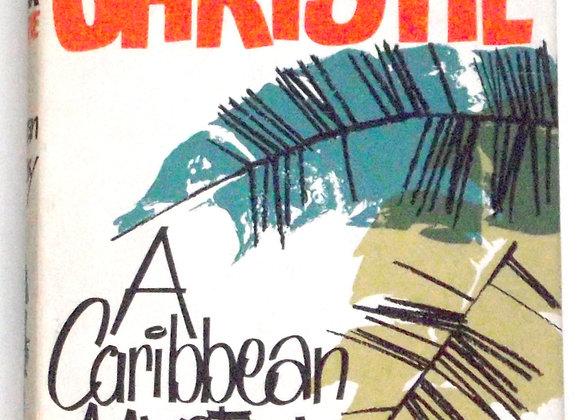 Agatha Christie A Caribbean Mystery Miss Marple Used Book 1964