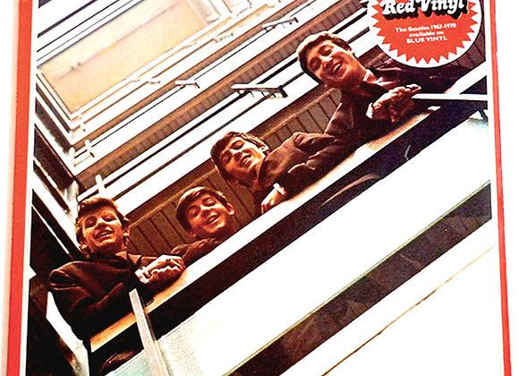 The Beatles Red Album 1962 – 1966 Double Album Red Vinyl 1973