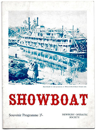 Showboat Theatre Programme Newbury Operatic Society 1967