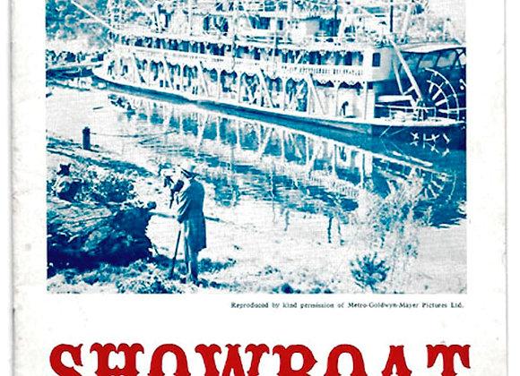 Showboat Theatre Programme Newbury Operatic Society 1967