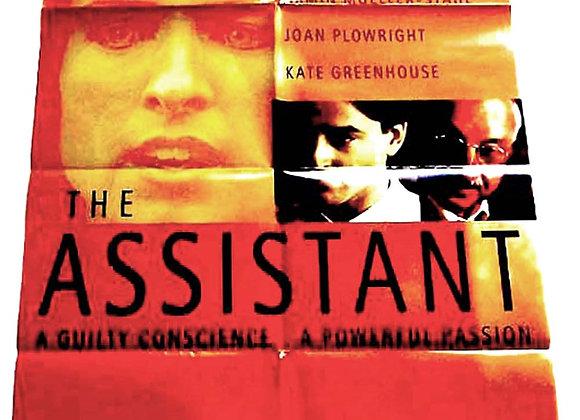 The Assistant British Quad Film Poster 1997