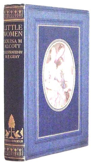 Louisa M. Alcott Little Women Illustrated by M.E. Gray circa 1922