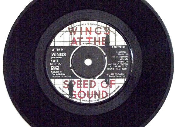 Paul McCartney and Wings Let Em In Single 1976