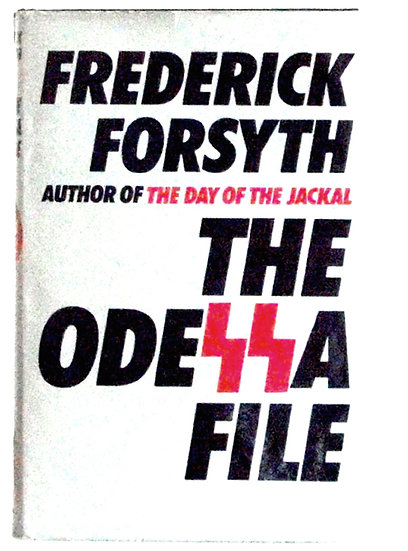 Frederick Forsyth Book The Odessa File First Edition 1972