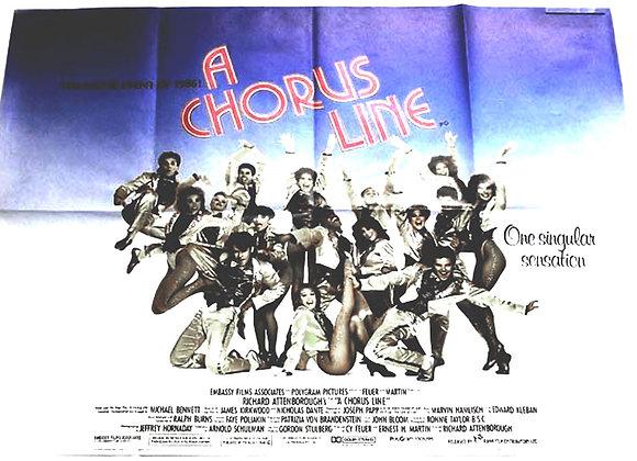 A Chorus Line Film Poster 1985