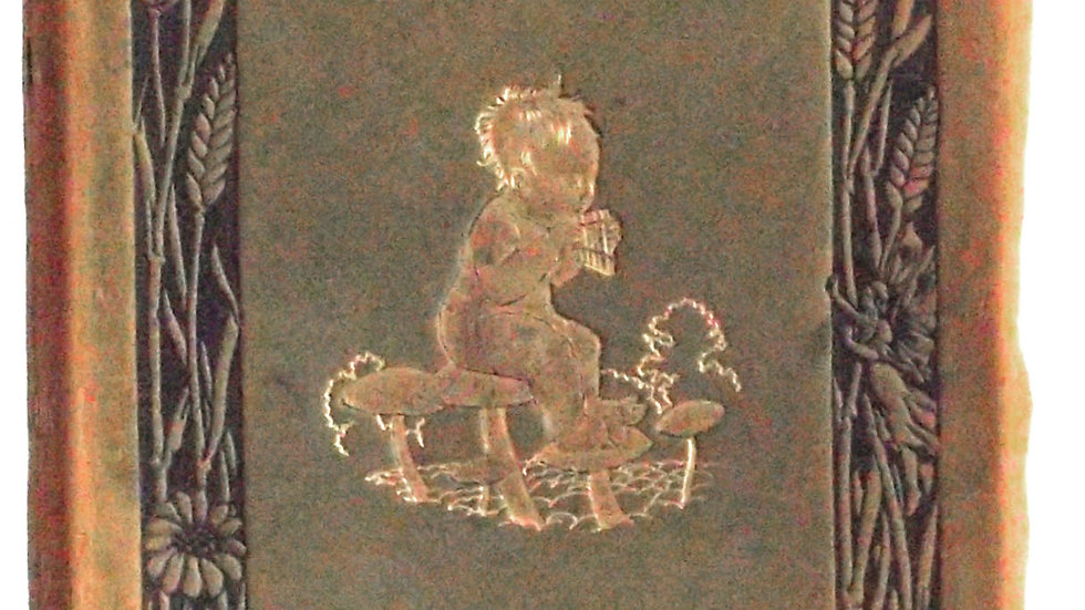 Peter Pan in Kensington Gardens Leather Bound Deluxe Edition 1910 Front Cover