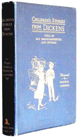 Charles Dickens Book Children's Stories From Dickens Signed Book Christmas 1911