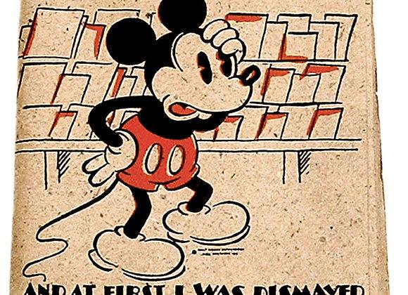 Walt Disney Mickey Mouse Birthday Card 1935