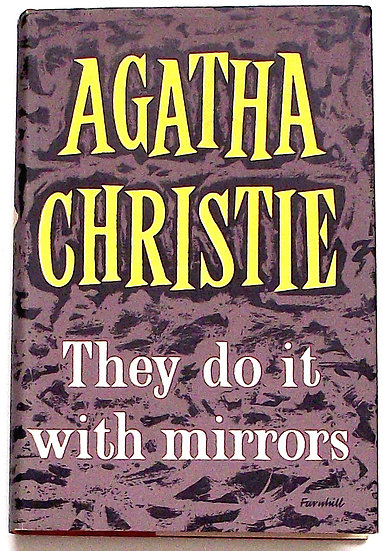 Agatha Christie They Do It With Mirrors First Edition 1952