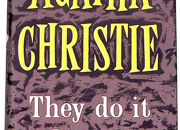 Agatha Christie They Do It With Mirrors Used Book 1952