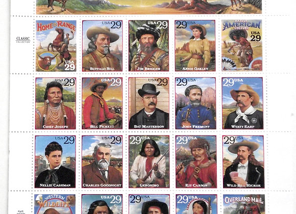 American Indians U.S. Sheets of Stamps
