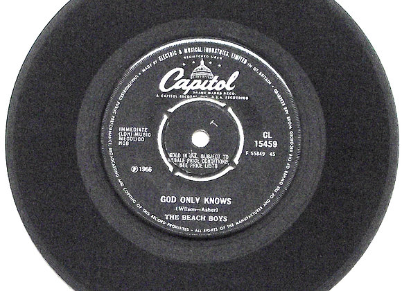 Beach Boys God Only Knows & Wouldn't It Be Nice Single 1966