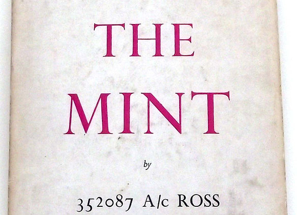 T.E. Lawrence The Mint Numbered Limited Edition 1955