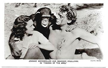 Johnnie-Weismuller-and-Maureen-OSullivan
