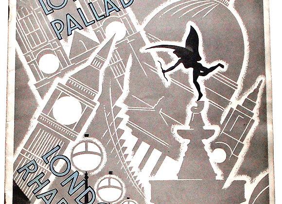 London Rhapsody London Palladium Theatre Programme 1937