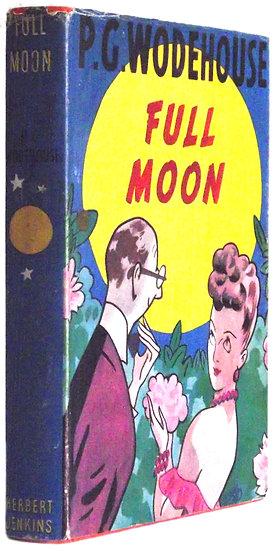 P.G. Wodehouse Full Moon Dust Jacket