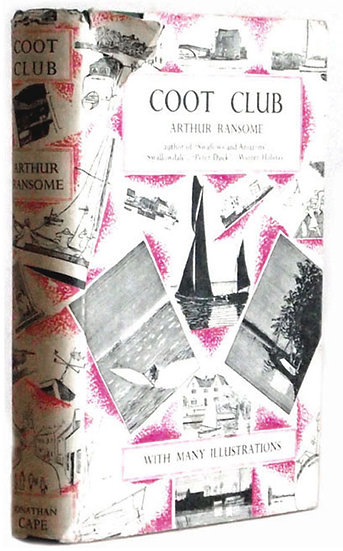 Arthur Ransome Coot Club First Edition Second Impression 1934