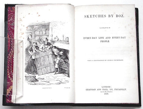 Charles-Dickens-Sketches-By-Boz-1850-II-