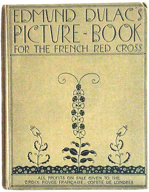 Edmund-Dulac-Picture-Book-1915-Boards-Fr
