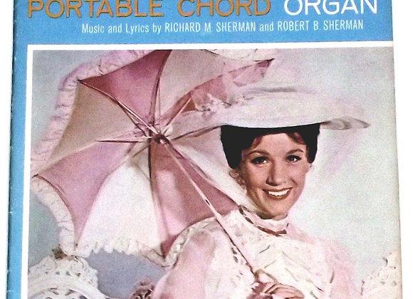 Walt Disney's Mary Poppins Portable Chord Organ Song Album 1965