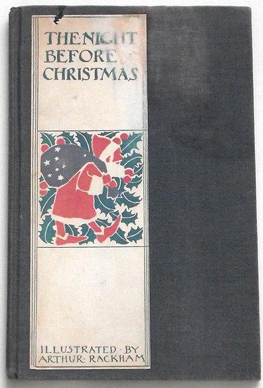 Arthur Rackham The Night Before Christmas US First Edition Book 1939