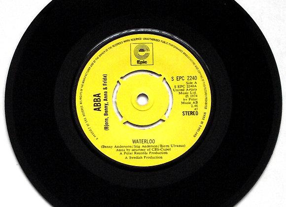 ABBA Waterloo Single Epic Label S EPC 2240 1974