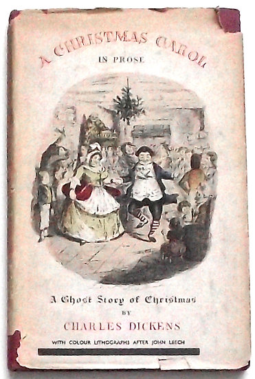 Charles Dickens A Christmas Carol A Ghost Story of Christmas 1945