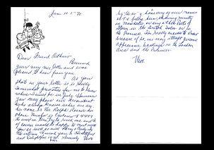 Moe-Howard-Autograph-Letter-Signed-1970-