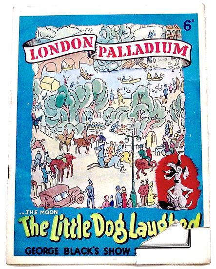 The Little Dog Laughed London Palladium Theatre Programme 1940