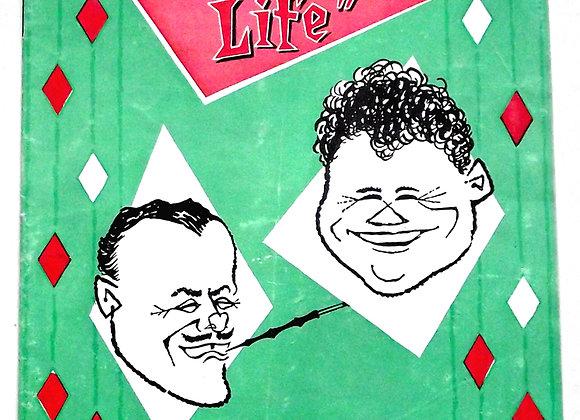 Large as Life London Palladium Theatre Programme 1958